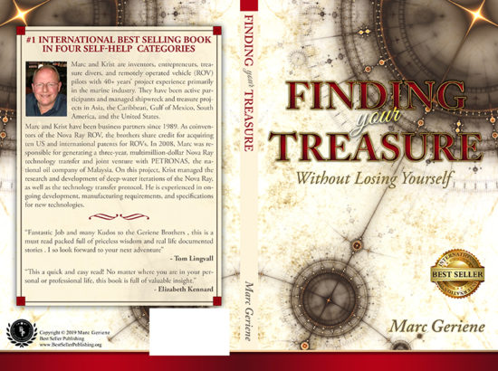 Finding your treasure book cover